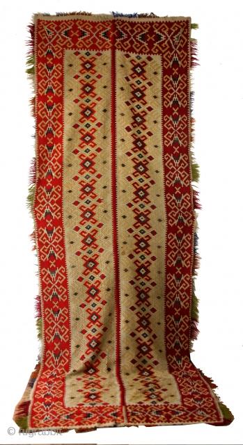 Shasevan kilim, old, 384 x 136 Cm's.