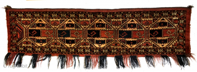 Torba, Turkmen Ersari Yomut nomads. 