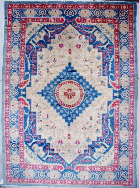 #7147 Antique India Amritsar Rug 