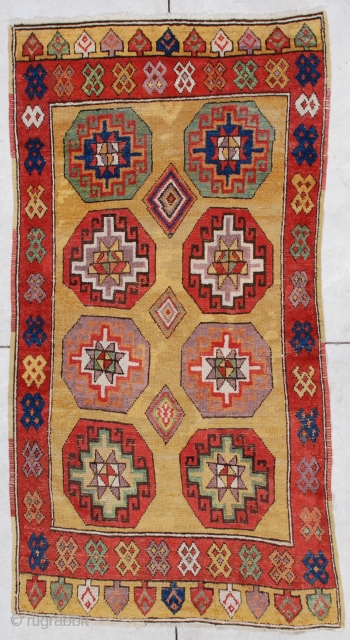 #6875 Konya antique Turkish Rug