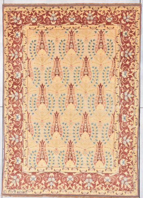 "Antique European Rug 8'0"" X 11'4"" #7899