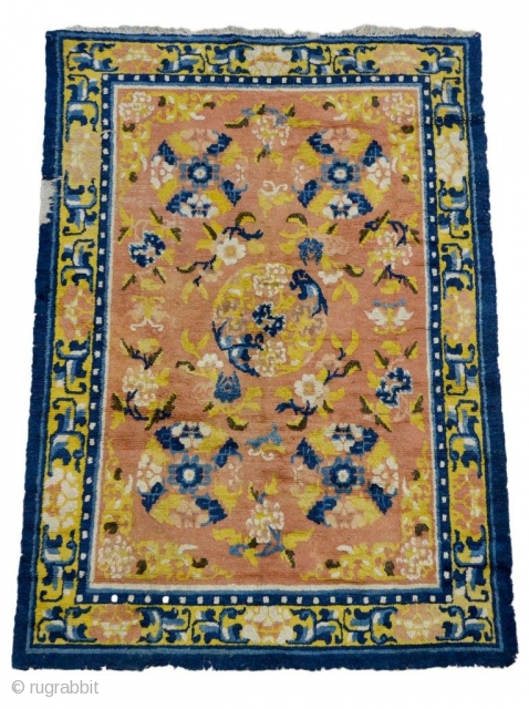 #7341 Antique Ningxia Rug