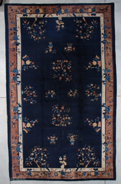 #7500 Antique Peking Chinese Rug 