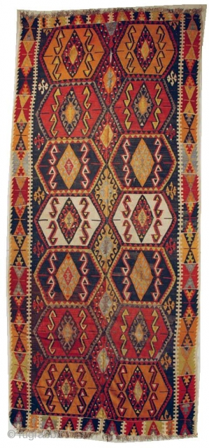 #6647 Turkish Kilim