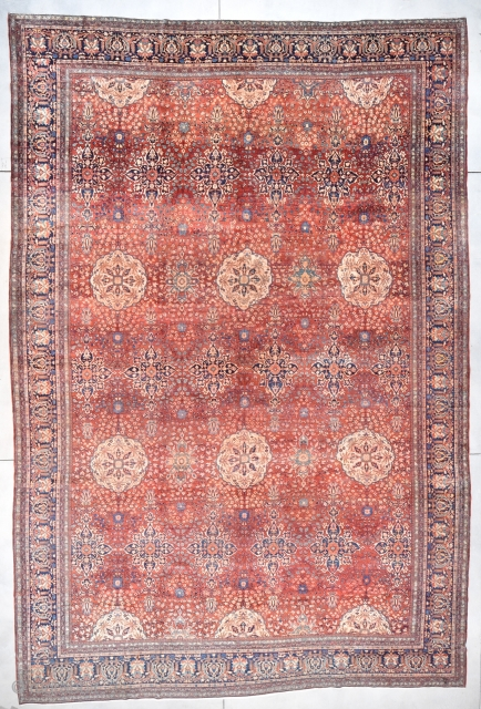 #7713 Antique Sarouk