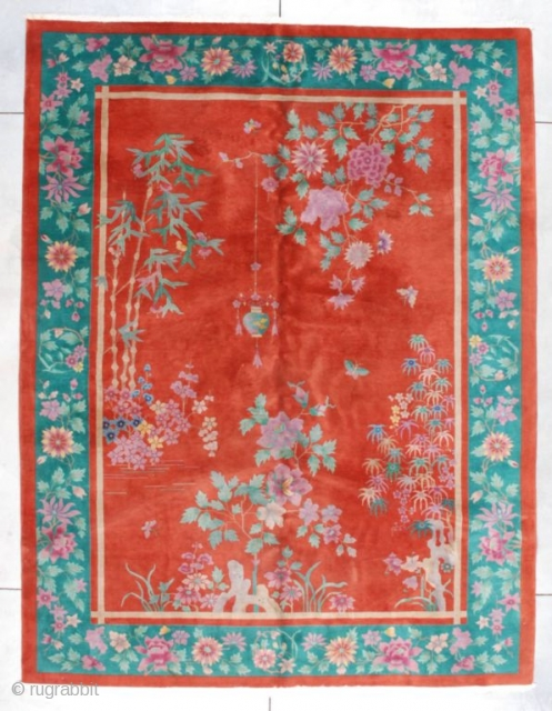 #7317 Art Deco Chinese Rug