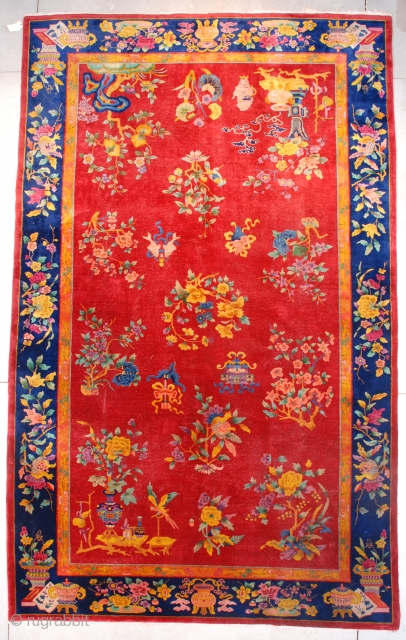 I sent this rug to Benjamin Hatooka at RugWash Inc for cleaning. It was never returned. Beware of this New York / New Jersey company. This is stolen property. Do not purchase  ...
