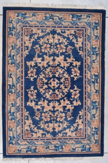 #7714 Feti Chinese Antique Rug