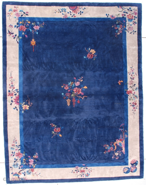 #7539 Art Deco Chinese Oriental Rug
