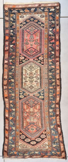 #7678 Antique Kurd Rug