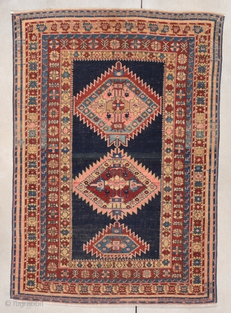 Antique Shirvan Oriental Rug  #7854