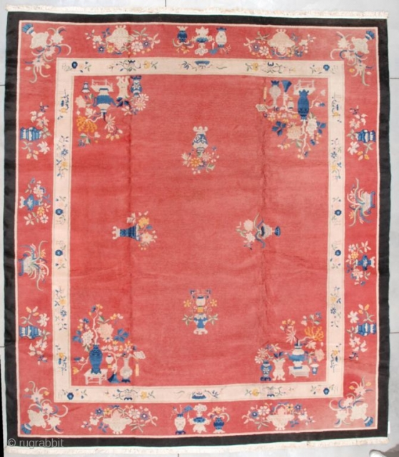 #7207 Art Deco Chinese Rug