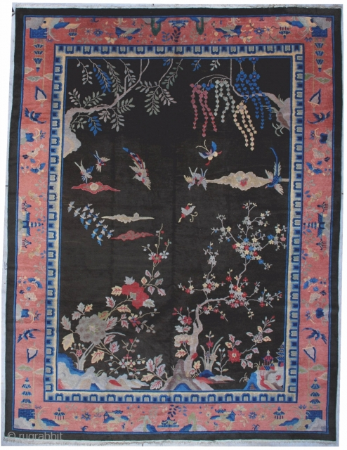 #7066 Art Deco Chinese Rug