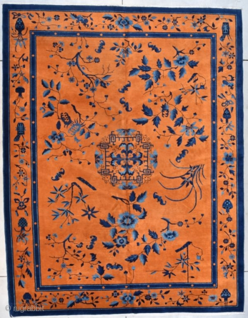 #7729 Art Deco Chinese Oriental Rug ~ 9x12 PAIR OF RUGS!!
