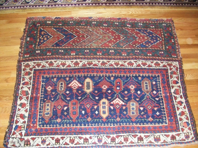 "Kurdish Chuval. Second half 19th C. 35"" x 42"""