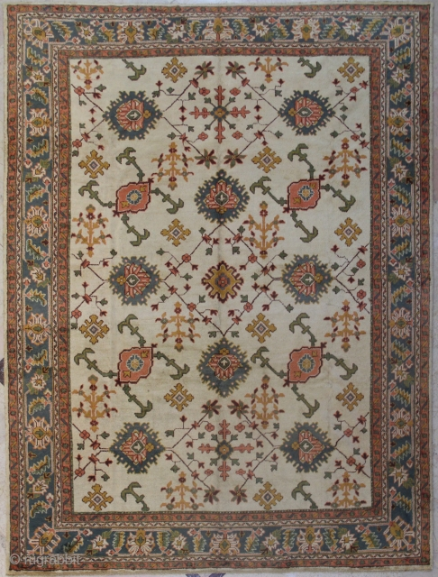Antique Turkish Ushak Carpet.