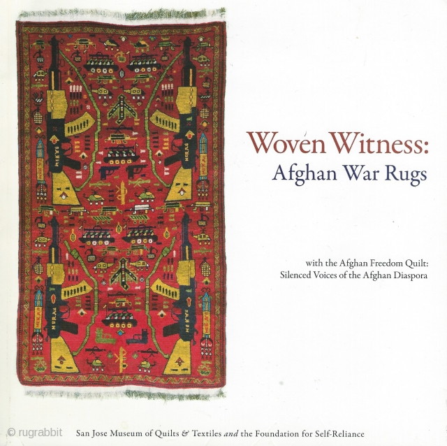 Woven Witness: Afghan War Rugs with the Afghan Freedom Quilt: Silenced Voices of the Afghan Diaspora