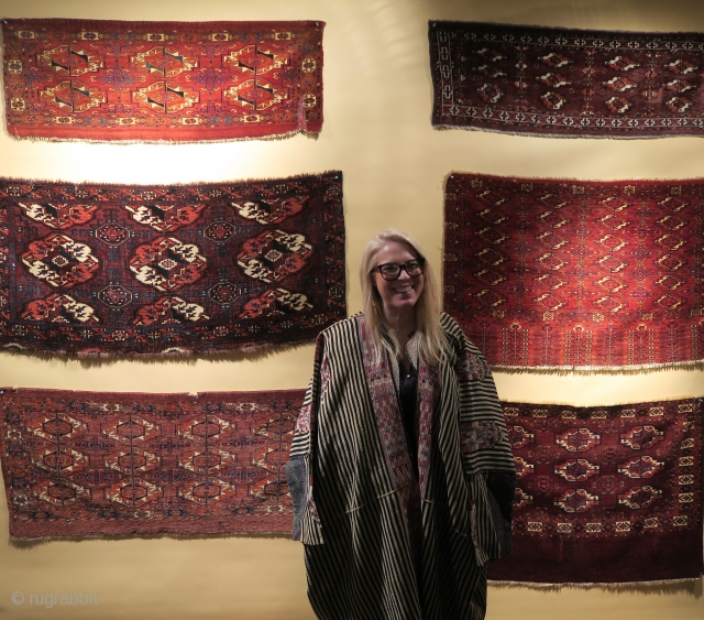 Some rug and textile highlights from San Francisco Tribal & Textile Art Show, 2019