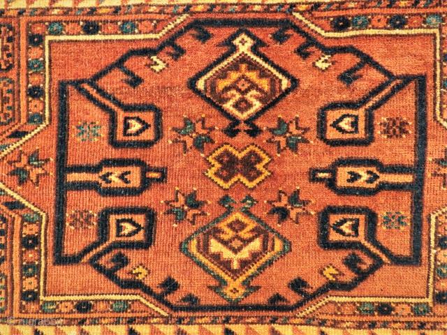 Antique Ersary Torba face very nice colors and all original size 2,01 x 48 cm Circa 1900