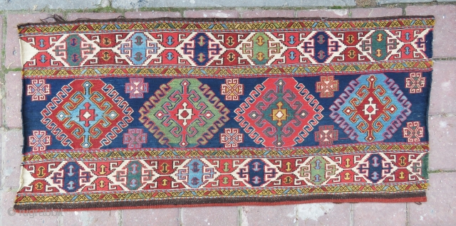 Sahsawen crib panel amazing colors and excellent condition all original size 1,10x50 cm  Circa 1880-1890 if you want more pictures please send Cell number I send from whatsupp 
