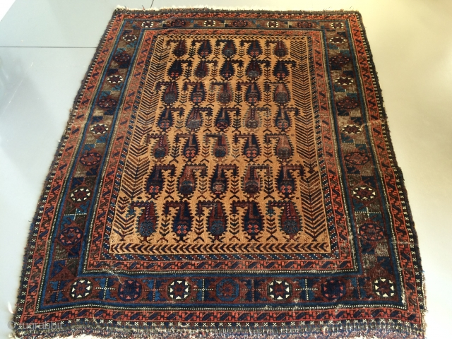 Antieque Baluch rug,