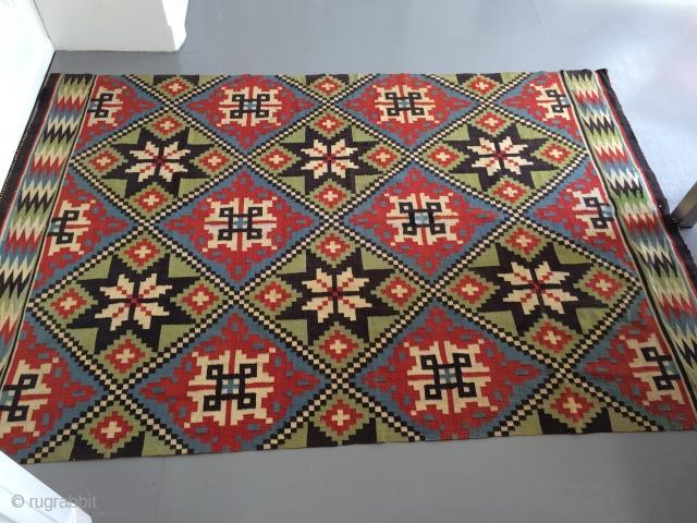 Antique Swedish kilim, 130x195 cm