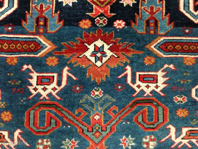 """Small Perepedil Prayer-Rug, Circa 1900, Original condition, Not restored, Very fine knotted, Size: 135 x 87 cm. 53"""" x 34"""" inch."""