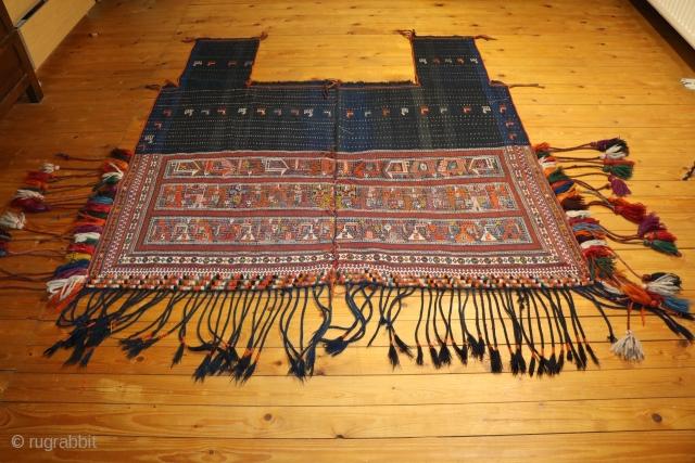 Gaschgai Pferdedecke um1900