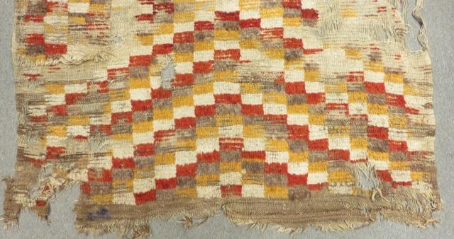 "Early and interesting ""Ancient Mosaic style"" Tulu Central Anatolian Kapatocya. 240cms x 145cms."
