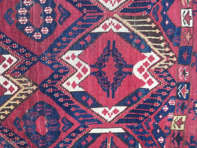 Beshir Chuval with ikat design, great wool and colour.