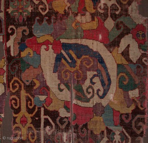 Caucasian carpet fragment was posted on rugrabbit.com ten years ago today:)