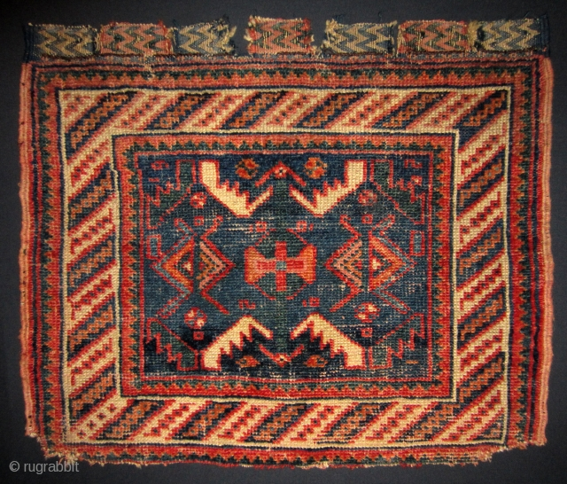 Afshar bag face 19th cent.