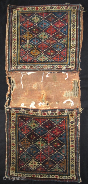 Shahsavan saddle bags 19th cent.