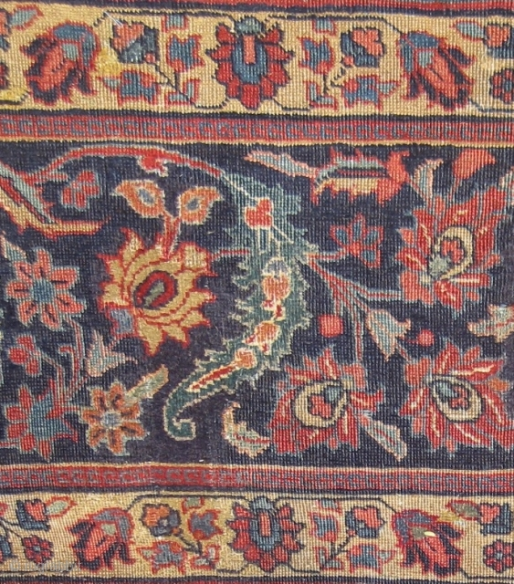 Persian Sickle Leaf carpet in exceptional size 579 x 396 cm.
