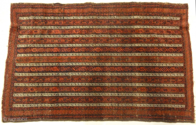 Antique Original Afghan Beluch circa 1880