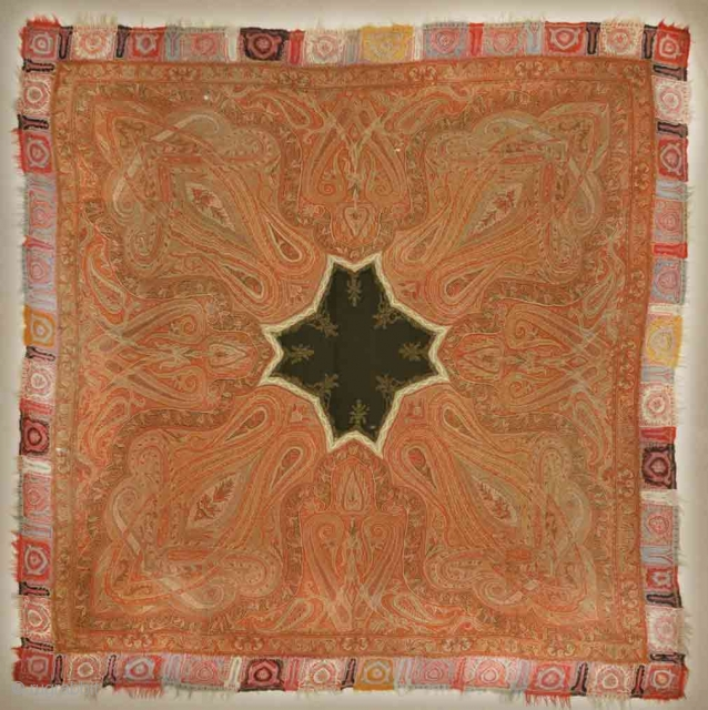Kashmiri Pashmina Shawl Circa 1700