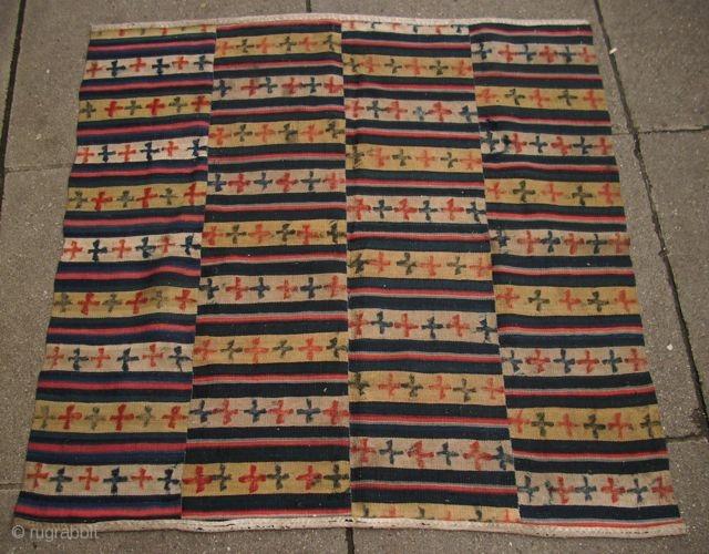 Tibetan skirt, tigma, 85 x 85 cm