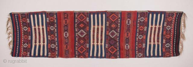 East Anatolian Kilim Half 92 x 340 cm / 3'0'' x 11'1''