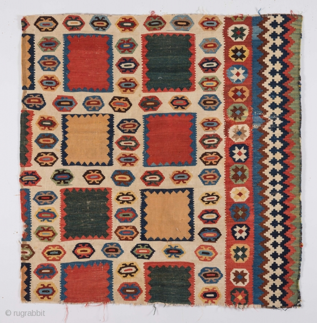 South Persian Kilim Fragment 