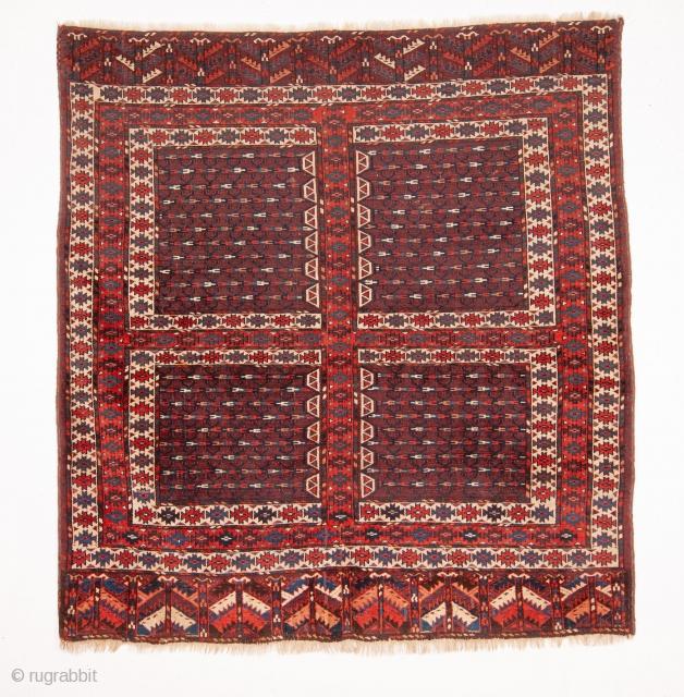 Turkmen Yomud Ensi 157 x 167 cm /5'1'' x 5'5''