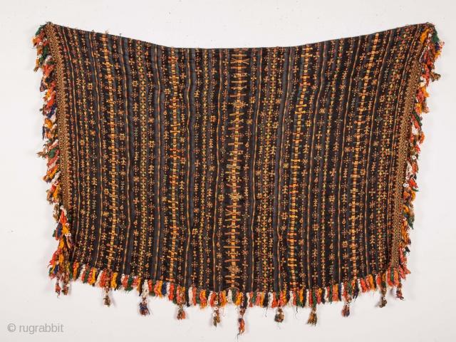 Siwa Oasis Bedouin Shawl , Egypt  91 x 125 cm / 2'11'' x 4'1''