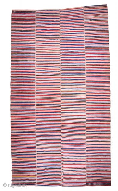 Vintage Mazandaran Flatweave 206 x 387 cm / 6'9'' x 12'8''