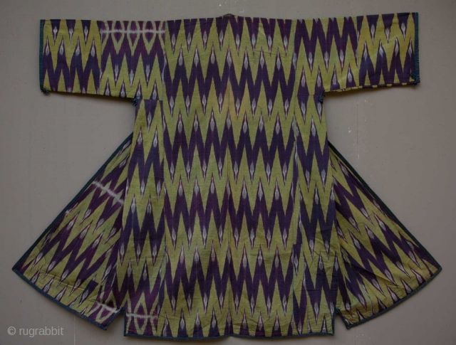 Central Asian , Tadjik Ikat Coat