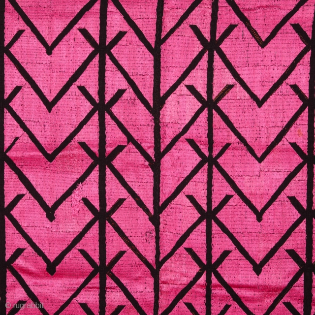 Early 20th C. Embroidery Fragment from Swat Valley 61 x 121 cm / 2'0'' x 3'11''