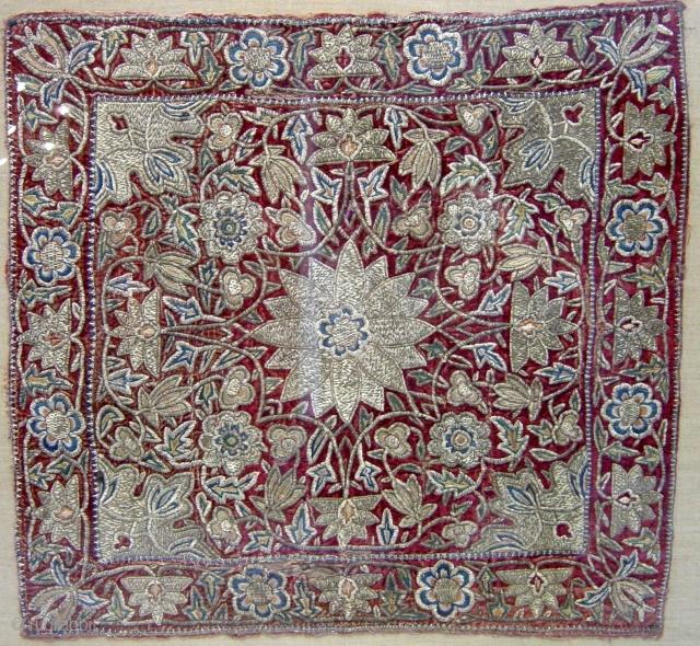 Antique Ottoman Textile, size 60x60cm