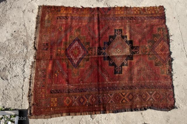 Kazakh, Central Asian (non-Turkmen) fragment, 1930-1940, south Kazakhstan