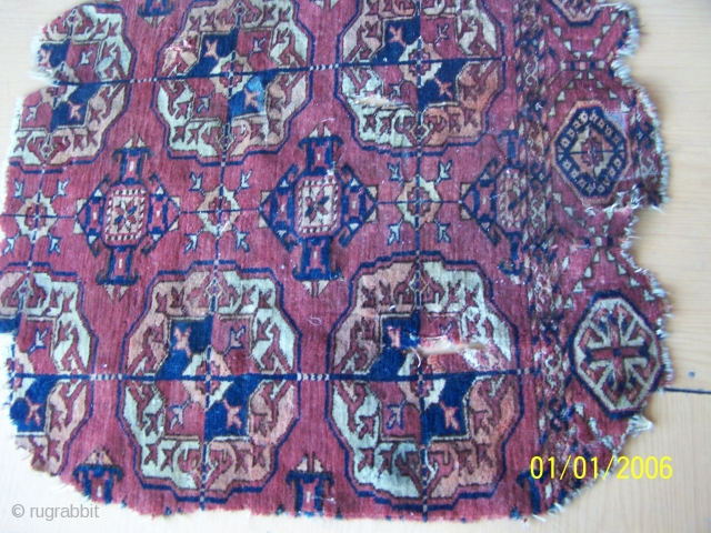 Antique Tekke fragment size 1 meter X 70cms.