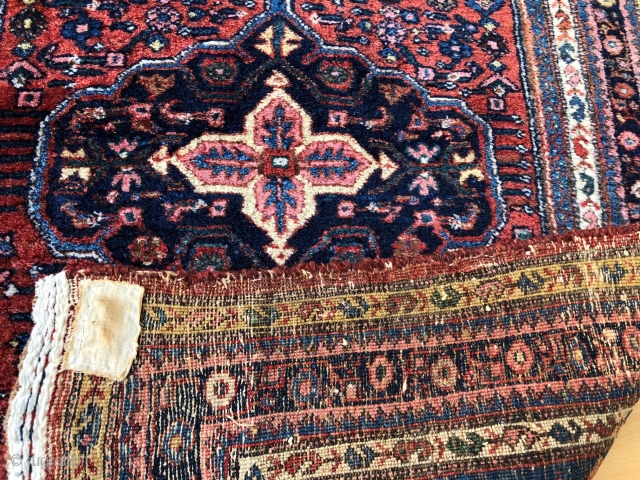 Gorgeous little bidjar.  Excellent condition with full pile. Size 30x48 inches