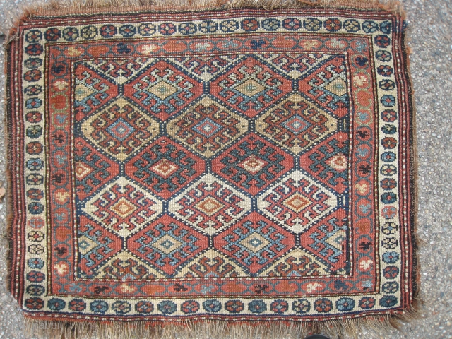 A Kurd Bagface of some sort with kilim refs