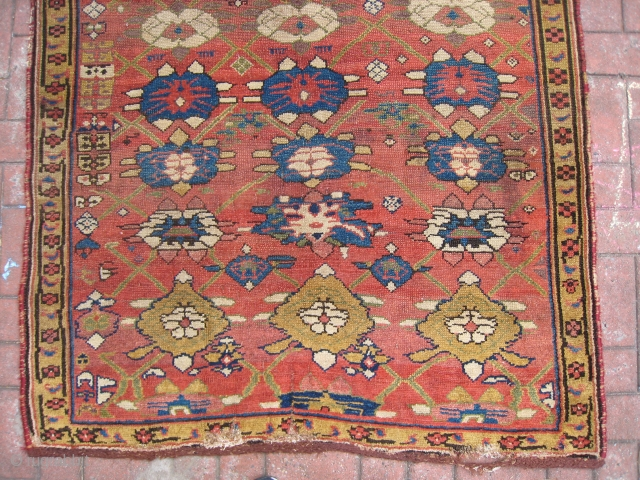 A Small Kurd Bijar Carpet